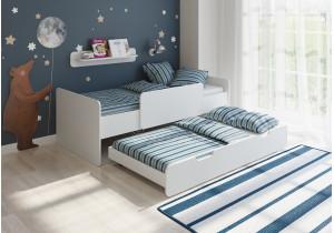 <span>Двухъярусная кровать</span> Легенда 14.2 белая