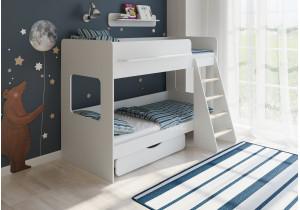 <span>Двухъярусная кровать</span> Легенда 25.2 белая